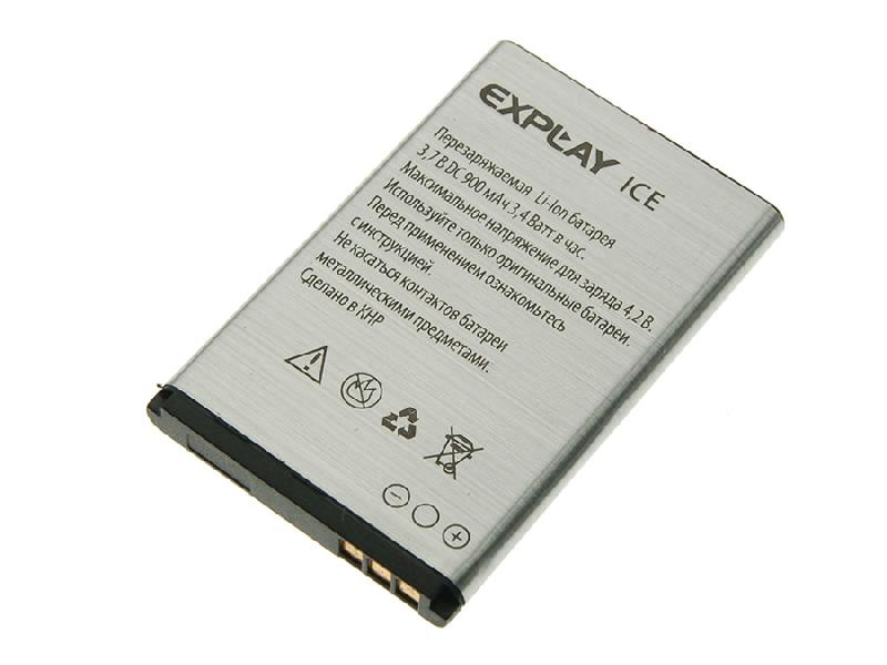 Аккумулятор Explay ICE / Nokia 5100 Li-Ion 900 mAh BL-4C, ORIGINAL